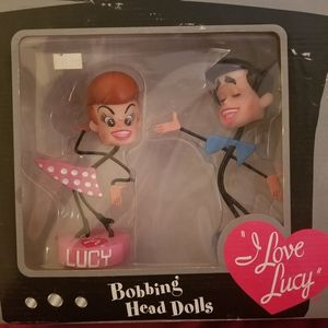Special edition I love Lucy bobbing head dolls